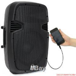 B-Stock Ekho RS15A 15 Inch Active Powered Speaker DJ Disco PA Karaoke Party