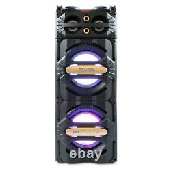 B-Stock Home Party Disco Speaker with Built-In Bluetooth USB Media Player
