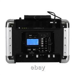 B-Stock NEW PORTABLE KARAOKE PLAYER DISCO DJ PA SYSTEM USB SD BLUETOOTH FREE