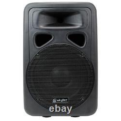 B-Stock Skytec SP1200A 12 Active Powered Karaoke DJ PA Speaker Disco Wedge