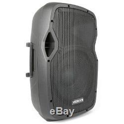 B-Stock Vonyx AP1200ABT Active Powered PA DJ Disco 12 ABS Bluetooth Speaker