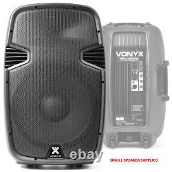 B-Stock Vonyx Active Self Powered PA Speaker SPJ-1500A 15 (Single) DJ Disco