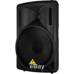Behringer B215D Powered Active PA DJ Disco Single Speaker Black inc Warranty