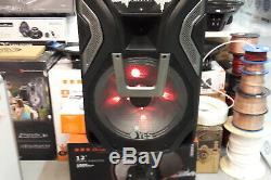Bluetooth Active Speaker PA DJ Disco Karaoke K-TV Party USB LED Light 15 350W