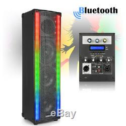 Bluetooth Disco Home Party Speaker with LED Metering Mood Light Wave 400W