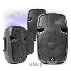 CHOICE Active Powered ABS Mobile DJ Disco PA Speaker 8 10 12 15 200W-800W