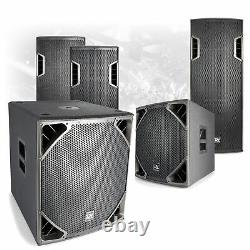 CHOICE PD6 Active Powered Mobile DJ Disco PA Speaker Subwoofer 12-18 400W-800W