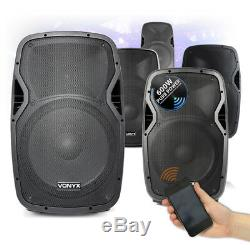 CHOICE Vonyx Active Powered Bluetooth Mobile DJ Disco Speaker 10-15 400W-800W