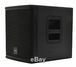 CITRONIC CASA-10B 10 Active Powered Subwoofer 1000W Karaoke Party Disco Club PA