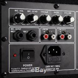 CSB15 Active Powered PA Speaker Active 15 Disco Party 800W Peak