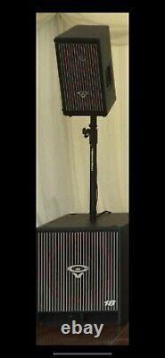 Cerwin Vega CVA-28X Active Speaker Disco Speakers Dj lovely condition