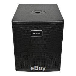 Citronic CASA Active 10 Subwoofer Bass Bin Cabinet Speaker 1000W DJ Disco