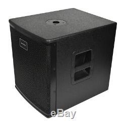 Citronic CASA Active 12 Subwoofer Bass Bin Cabinet Speaker 1400W DJ Disco