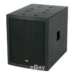 DAP Clubmate II High Power DJ Sound System Rig Disco Powered PA