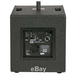 DAP Live Mini 12 Active Column Line Array Speaker System 1400W Sound DJ Disco
