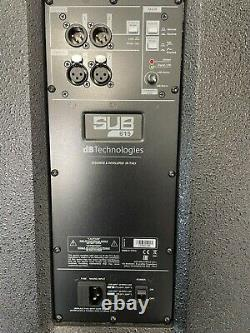 DB Technologies Sub 615 1200W 15 Active Powered Subwoofer Sub DJ Disco 10034217