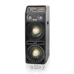 Disco Jam 2 Bluetooth Active Powered PA Speaker System, Flashing DJ Light