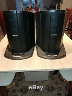Double Bose L1 Compact Lightweight / Disco/ Guitar/ Vocal Speaker System