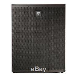 Electro-Voice EV 3600W Active PA System ZLX-12P Top + ZXA1 Sub DJ Disco