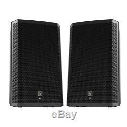 Electro-Voice EV ZLX-15P 15 DJ Disco Active 2000W PA Club Stereo Speaker (Pair)