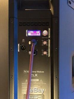 Electro-Voice ZLX15P EV 15 1000 Watt Active Powered PA Disco Speaker Pair Used