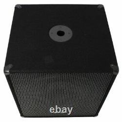 Evolution Audio EL-15SUB Active 15 600-Watts DJ Disco PA Subwoofer