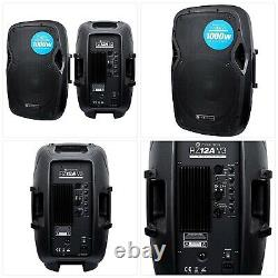 Evolution Audio RZ12A V3 12 1000W Active DJ Disco PA Club Stage Speaker
