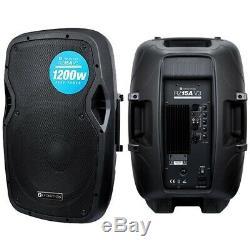 Evolution Audio RZ15A V3 15 1200W Two Way Active DJ Disco PA Club Stage Speaker