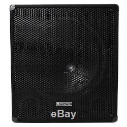 Evolution EL-SUB 18SA 1000W 18 Active PA Subwoofer, DJ, Disco, Live, Sub Bass
