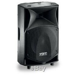 FBT JMaxX 112A 900W 12 Active DJ Disco PA Speaker (Pair) with Stands & Cables