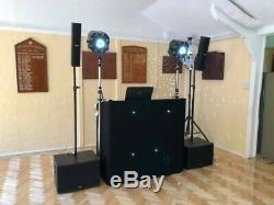 FBT Vertus CS1000 All-in-one Active DJ Disco PA Live Speaker Subwoofer System