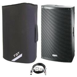 FBT X-LITE 10A 10 1000W Powered Active PA Speaker Stage Monitor DJ Disco +Cover