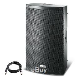 FBT X-LITE 15A 15 1000W Powered Active PA Speaker DJ Disco Stage Band +XLR Lead