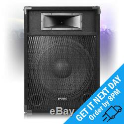 Fenton CSB15 Active 15 Powered DJ Party PA Disco Karaoke Speaker 800W Max