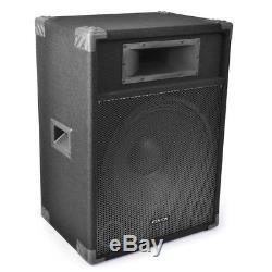 Fenton CSB15 PA Speakers Active 15 Home Karaoke Disco Party 1600W Total Peak