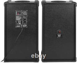 Fenton SPB 10 Pair Powered Bluetooth Disco Party Speakers with USB MP3 600W