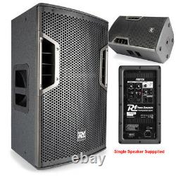 Full PA Sound System Powered Speakers SubWoofers DJ Disco Club with Stands 1300W