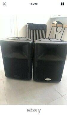 Gemini GX350 12 Active PA Disco Live Band Speaker (350w) RMS 800 watt Peak