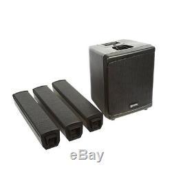 Gemini WRX-843 Active Column Speaker Sound System PA 250W DJ Disco