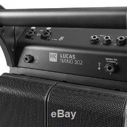 HK Audio Lucas Nano 302 Portable PA System DJ Disco Sound System