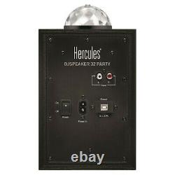 Hercules DJ Monitor 32 Speaker System Monitor LED Light Effect Party Disco