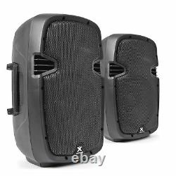 High Powered Active Powered PA Speakers 800W 10 Woofer DJ DiscoSPJ1000AD