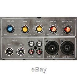 Ibiza Sound 15î Active Subwoofer Bass Bin 800W DJ Disco PA Sound System