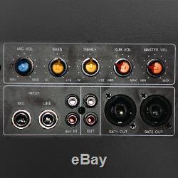 Ibiza Sound SUB18A 1200W Active Subwoofer Bass Bin Disco DJ Speaker PA