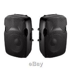 Ibiza Sound XTK10 Active & Passive 600W Speaker Bundle PA Sound DJ Disco Band