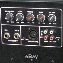 Ibiza Sound XTK8A Active Speaker 8 400W Sound System DJ Disco Package