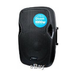 Kam RZ12A V3 1000W Active PA Speaker Bluetooth DJ Disco Sound System