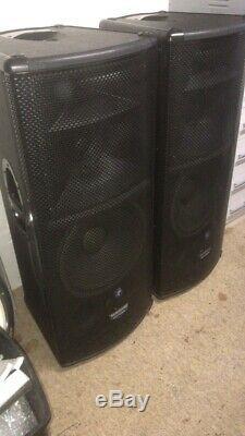 Mackie 1530 Active 3 Way Speakers Dj Disco Karaoke Club Pub