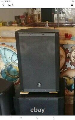 Mackie SRM650 15 Full-Range 1600W RMS Active Powered DJ Disco Band PA Speaker