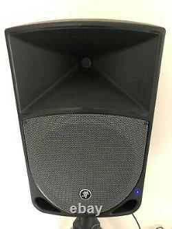 Mackie Thump 12A Active 12 DJ Disco Musician Band PA Speakers Stands Cables
